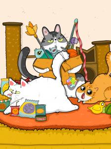 Team Chara Cats @teamcharacats